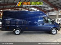 2013 FORD TRANSIT 2.2  T350 EXTRA LWB  JUMBO HIGH ROOF  125 BHP - ONE OWNER -  £7995.00