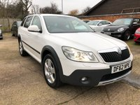 USED 2013 62 SKODA OCTAVIA 2.0 SCOUT TDI CR DSG 5d AUTO 140 BHP 1 Owner from new, 4X4