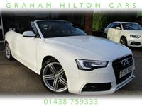 "USED 2014 14 AUDI A5 2.0 TDI S LINE SPECIAL EDITION 2d AUTO 175 BHP ONE PREVIOUS OWNER, FULL LEATHER, SAT NAV, CLIMATE CONTROL, 18"" ALLOYS, PARKING SENSORS, FULL SERVICE HISTORY, SPARE KEY"