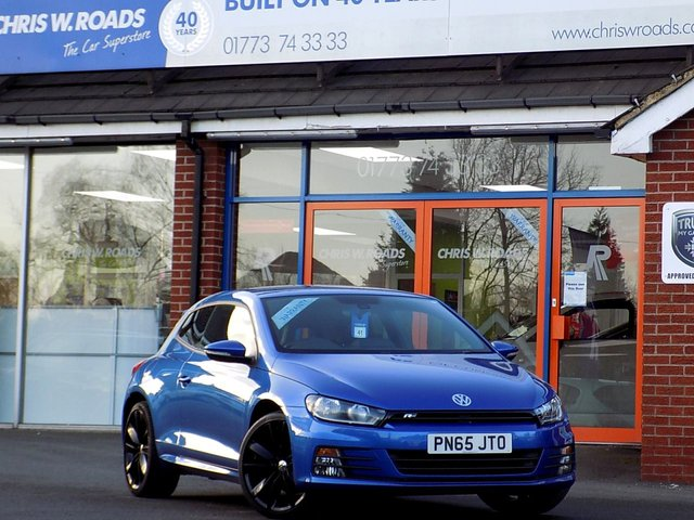 USED 2015 65 VOLKSWAGEN SCIROCCO 2.0 TDi R LINE BLUEMOTION TECHNOLOGY (150) Leather & Nav  *ONLY 9.9% APR*