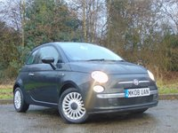 USED 2008 08 FIAT 500 1.2 LOUNGE MULTIJET 75 3d 75 BHP FULL LEATHER INTERIOR