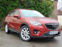 USED 2013 62 MAZDA CX-5 2.2 D SPORT NAV 5d  **FULL LEATHER HEATED INTERIOR**