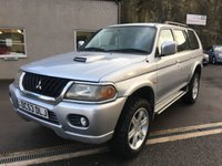2004 MITSUBISHI SHOGUN SPORT 2.5 WARRIOR TD GLX 5d 114 BHP £2995.00