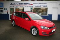 2013 VOLKSWAGEN GOLF 1.6 SE TDI BLUEMOTION TECHNOLOGY 5d 103 BHP £6795.00