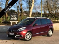 USED 2014 RENAULT GRAND SCENIC 1.5 DYNAMIQUE TOMTOM ENERGY DCI S/S 5d 110 BHP 7 SEATS 7 SEATS, HALF LEATHER INTERIOR