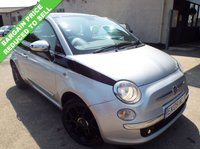 2009 FIAT 500 1.2 LOUNGE 3d 69 BHP £2995.00