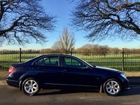 USED 2011 61 MERCEDES-BENZ C CLASS 1.8 C180 BLUEEFFICIENCY SE 4d 155 BHP