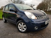USED 2008 57 NISSAN NOTE 1.4 ACENTA 5d ALLOYS A/C & EXTRAS