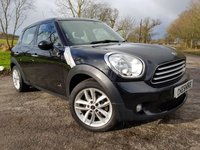 USED 2012 61 MINI COUNTRYMAN 1.6 COOPER D ALL4 5d LEATHER SAT NAV & SENSORS
