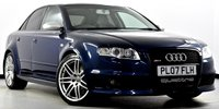 USED 2007 07 AUDI RS4 SALOON 4.2 Quattro 4dr RS Bucket Seats, Black Pack ++