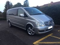2011 MERCEDES-BENZ VIANO 3.0 122 CDI BLUEEFFICENCY AMBIENTE AUTO NO VAT £18995.00