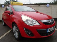USED 2011 11 VAUXHALL CORSA 1.0 EXCITE AC ECOFLEX 3d 64 BHP GUARANTEED TO BEAT ANY 'WE BUY ANY CAR' VALUATION ON YOUR PART EXCHANGE