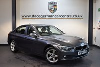 USED 2014 64 BMW 3 SERIES 2.0 318D SE 4DR 141 BHP + 1 OWNER FROM NEW + SATELLITE NAVIGATION + BLUETOOTH + DAB RADIO + CRUISE CONTROL + RAIN SENSORS + PARKING SENSORS + 17 INCH ALLOY WHEELS +