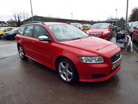 USED 2009 09 VOLVO V50 2.0 SPORT D 5d 135 BHP SERVICE HISTORY