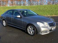 2011 MERCEDES-BENZ E CLASS 2.1 E220 CDI BLUEEFFICIENCY EXECUTIVE SE 4d 170 BHP £8995.00