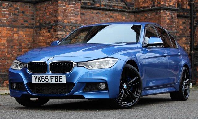 2015 65 BMW 3 SERIES 3.0 330D M SPORT 4d AUTO 255 BHP