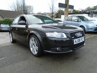 USED 2008 08 AUDI A4 2.0 TDI S LINE SPECIAL EDITION 5d 170 BHP