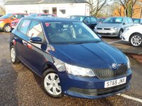 USED 2015 65 SKODA FABIA 1.0 S MPI 5d 59 BHP ONLY 4,000 Miles One Owner