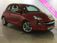 USED 2014 64 VAUXHALL ADAM 1.2 JAM 3d 69 BHP 1 OWNER/Bluetooth/DAB