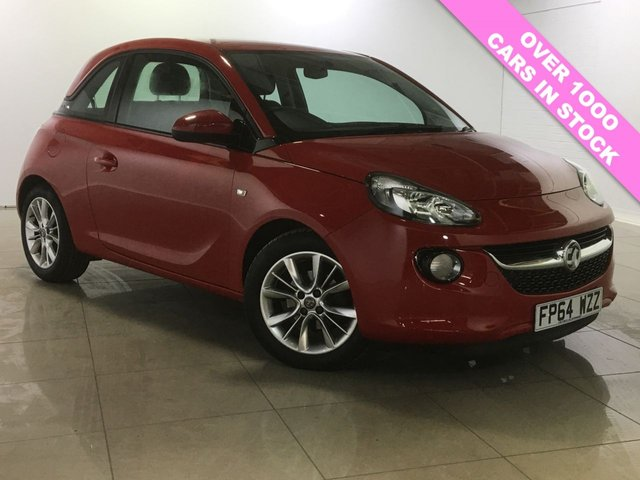 View our 2014 64 VAUXHALL ADAM 1.2 JAM 3d 69 BHP