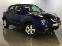 USED 2014 64 NISSAN JUKE 1.5 VISIA DCI 5d 110 BHP Great FuelEconomy/Low Road Tax