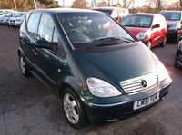 USED 2001 51 MERCEDES-BENZ A CLASS 1.6 A160 AVANTGARDE SWB 5d AUTO 102 BHP AFFORDABLE AUTOMATIC FAMILY CAR IN EXCELLENT CONDITION, DRIVES SUPERBLY  !!