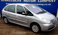 USED 2008 58 CITROEN XSARA PICASSO 1.6 PICASSO VTX 16V 5d 92 BHP 2008 58 CITROEN PICASSO 1.6  VTX TURBO DIESEL MANUAL IN METALLIC SILVER ALLOY WHEELS POWER STEERING LOW MILES WITH FULL SERVICE HISTORY GOOD ALL ROUND FAMILY CAR