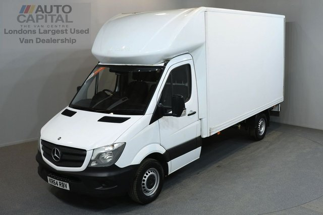 2015 64 MERCEDES-BENZ SPRINTER 2.1 313 CDI 3d 129 BHP LR LWB REAR WD LUTON VAN ONE OWNER FROM NEW, FULL SERVICE HISTORY