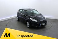 USED 2014 64 FORD FIESTA 1.0 ZETEC 5d 99 BHP BLUETOOTH - START STOP SYSTEM