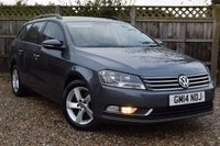 USED 2014 14 VOLKSWAGEN PASSAT 2.0 S TDI BLUEMOTION TECHNOLOGY DSG 5d AUTO 139 BHP Free 12  month warranty