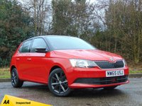 USED 2015 65 SKODA FABIA 1.0 SE MPI 5d 74 BHP 128 POINT AA INSPECTED** MANUFACTURERS WARRANTY OCT 2018