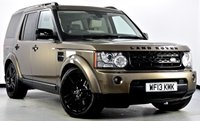 USED 2013 13 LAND ROVER DISCOVERY 4 3.0 SD V6 HSE 5dr Auto [8] Black Pk, Reverse Cam, Sunroof