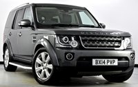 USED 2014 14 LAND ROVER DISCOVERY 4 3.0 SD V6 XS 4x4 5dr Auto [8] Sat Nav, Heated Leather, DAB