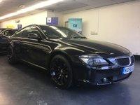 2006 BMW 6 SERIES 3.0 630I SPORT 2d AUTO 255 BHP £5995.00
