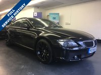 "USED 2006 56 BMW 6 SERIES 3.0 630I SPORT 2d AUTO 255 BHP XENON HEADLIGHTS, FRONT AND REAR PARKING SENSORS, 19"" BLACK ALLOYS"