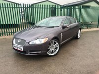 USED 2008 08 JAGUAR XF 2.7 PREMIUM LUXURY V6 4d AUTO 204 BHP SAT NAV LEATHER FSH SATELLITE NAVIGATION. STUNNING GREY MET WITH FULL BLACK LEATHER TRIM. ELECTRIC SEATS. CRUISE CONTROL. 20 INCH UPGRADED ALLOYS. COLOUR CODED TRIMS. PARKING SENSORS. REVERSING CAMERA. BLUETOOTH PREP. DUAL CLIMATE CONTROL. R/CD PLAYER. MFSW. DETACHABLE TOWBAR. MOT 01/19. FULL SERVICE HISTORY. RECENT CAMBELT CHANGE DONE. TEL 01937 849492
