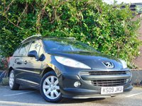 USED 2009 09 PEUGEOT 207 1.6 SW S HDI 5d ESTATE **DIESEL**LOW RUNNING COSTS**
