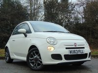 USED 2013 63 FIAT 500 1.2 S 3d 69 BHP LOW MILEAGE AND FULL SERVICE HISTORY
