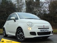USED 2013 63 FIAT 500 1.2 S 3d 69 BHP * 128 POINT AA INSPECTED *