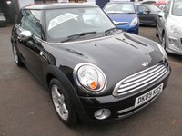 USED 2009 09 MINI HATCH COOPER 1.6 COOPER 3d 118 BHP