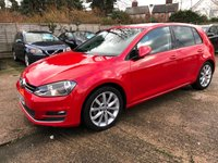 USED 2014 64 VOLKSWAGEN GOLF 2.0 GT TDI BLUEMOTION TECHNOLOGY DSG 5dr AUTO 148 BHP 1 Owner, Full VW Service history