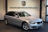 USED 2014 63 BMW 3 SERIES 2.0 318D SPORT TOURING 5DR AUTO 141 BHP + BLUETOOTH + BMW SERVICE HISTORY + SPORT SEATS + DAB RADIO + CRUISE CONTROL + RAIN SENSORS + AUTO AIR CONDITIONING + PARKING SENSORS + 18 INCH ALLOY WHEELS +