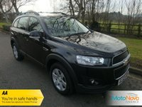 USED 2014 63 CHEVROLET CAPTIVA 2.2 LT VCDI 5d 184 BHP Fantastic Value One Owner Seven Seat Captiva Diesel with Half Leather Seats, Climate Control, Cruise Control, Alloy Wheels and Service History.