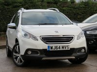 USED 2014 64 PEUGEOT 2008 1.6 E-HDI ALLURE FAP 5d 115 BHP *AA DEALER PROMISE DRIVE AWAY TODAY*