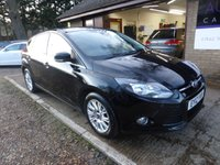 USED 2012 12 FORD FOCUS 2.0 TITANIUM TDCI 5d 139 BHP 1 OWNER FROM NEW, FULL SERVICE HISTORY, DAB RADIO, PRIVACY GLASS