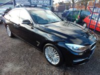 2014 BMW 3 SERIES 2.0 325D LUXURY GRAN TURISMO 5d 215 BHP £8995.00