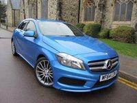 2014 MERCEDES-BENZ A CLASS 1.5 A180 CDI BLUEEFFICIENCY AMG SPORT 5d AUTO 109 BHP £10995.00