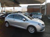 2013 SEAT IBIZA 1.4 SE 3d 85 BHP £4695.00