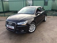 USED 2011 11 AUDI A1 1.6 TDI SPORT 3d 103 BHP SAT NAV BLUETOOTH CRUISE FSH SATELLITE NAVIGATION. STUNNING BLACK MET WITH BLACK CLOTH SPORT TRIM. CRUISE CONTROL. 16 INCH ALLOYS. COLOUR CODED TRIMS. PARKING SENSORS. BLUETOOTH PREP. AIR CON. R/CD PLAYER. MFSW. MOT 08/18. ONE PREV OWNER. FULL SERVICE HISTORY. FCA FINANCE APPROVED DEALER. TEL 01937 849492.