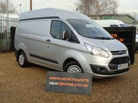 USED 2014 14 FORD TRANSIT CUSTOM 2.2 310 TREND LR P/V 5d 125 BHP L1 H2 HIGH ROOF